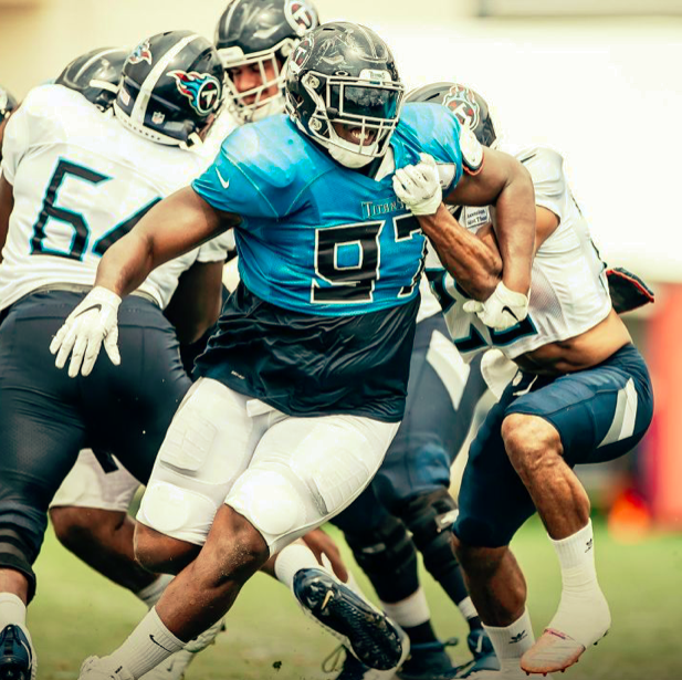 Isaiah Mack Looking to help Anchor Titans Defensive Front