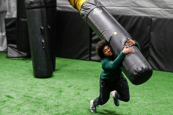 NFL draft diary: Antjuan Simmons' new workout plan is building a different kind of linebacker